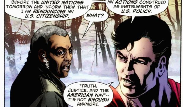 superman american way